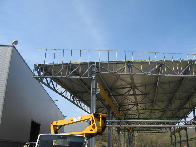 Capannone industriale in carpenteria metallica 1000 mq