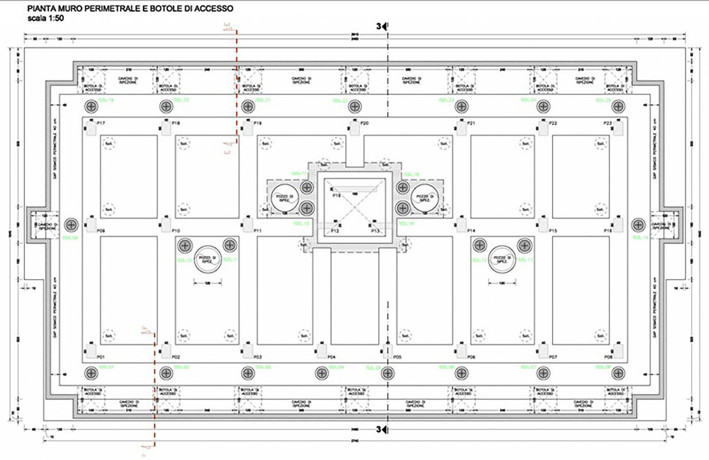 Miglioramento sismico di un palazzo multipiano tramite nuove fondazioni su isolatori sismici friction pendulum
